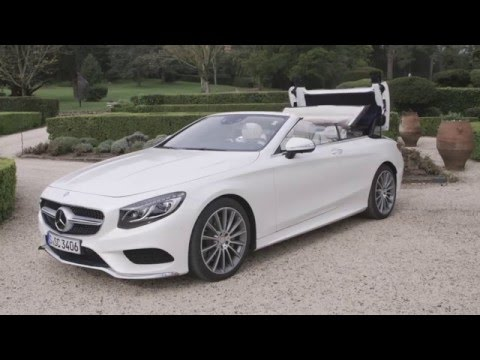 mercedes benz classe s cabriolet une voiture de luxe ciel ouvert youtube. Black Bedroom Furniture Sets. Home Design Ideas