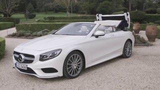 Mercedes-Benz Classe S Cabriolet : une voiture de luxe à ciel ouvert