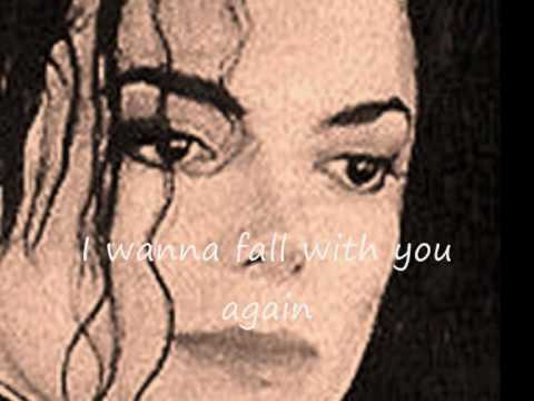 Michael Jackson - Fall Again with lyrics