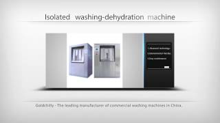 Low cost commercial and industrial washing machines for heavy users