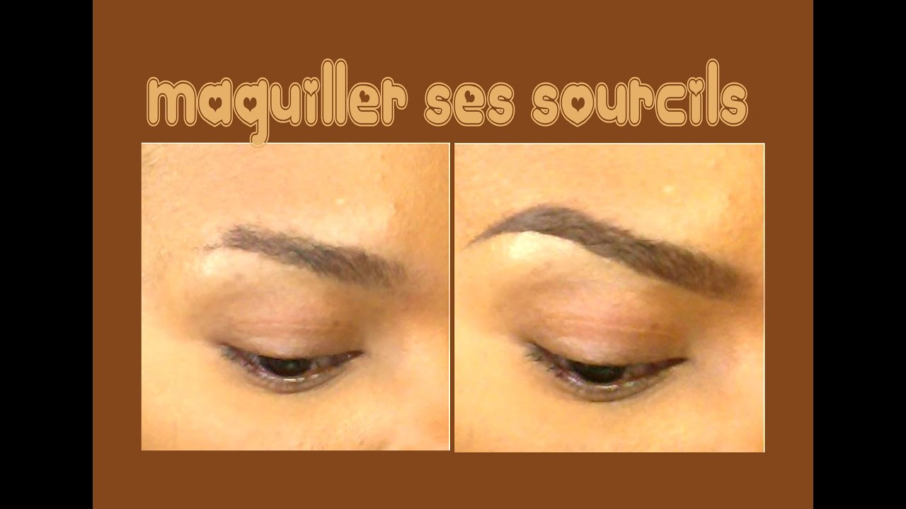 comment maquiller ses sourcils la poudre youtube. Black Bedroom Furniture Sets. Home Design Ideas