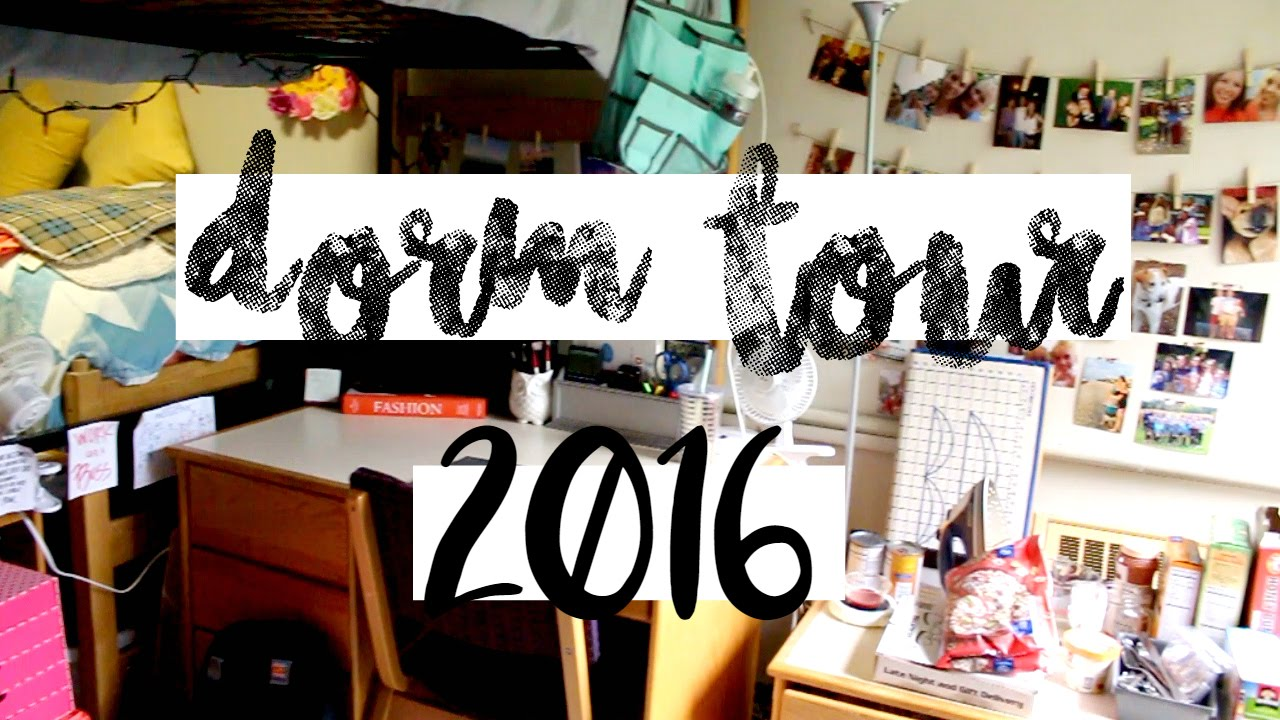College Dorm Tour! (Virginia Tech Slusher Tower)   YouTube Part 6