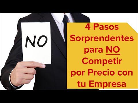 4 Pasos Sorprendentes para NO Competir por Precio con tu Empresa