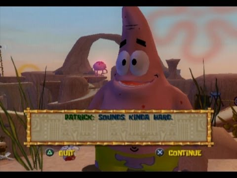 The SpongeBob SquarePants Movie Walkthrough/Gameplay PS2 HD #2