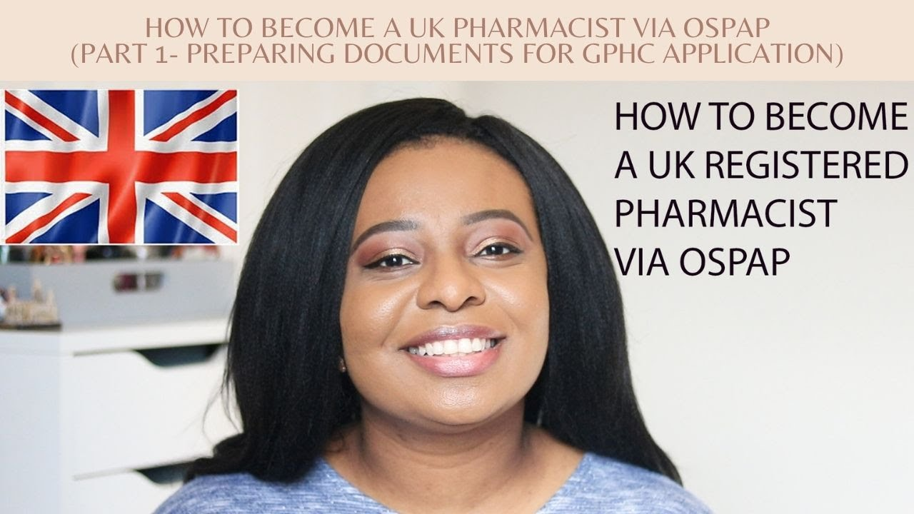 Download How to Become a UK Pharmacist via OSPAP // Part 1- Preparing your documents