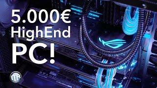5.000€ HighEnd Gaming- & Editing-PC! i7 6900k, GTX 1080 SLI, Rampage V Edition 10, 64GB RAM etc.