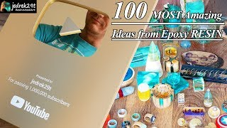 100 MOST Amazing Ideas from Epoxy RESIN / 1 000 000 subscriptions / RESIN ART