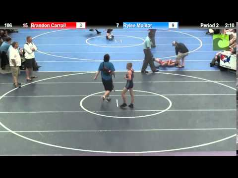 106 Brandon Carroll vs. Rylee Molitor