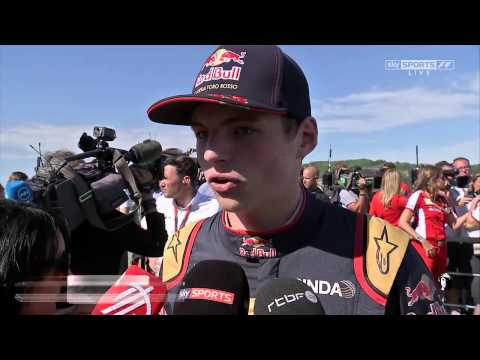 2015 Hungary - Post-Race: Max Verstappen