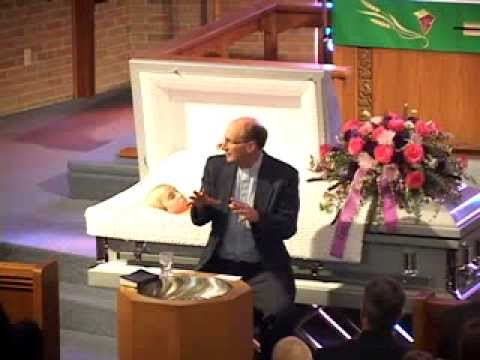 Ashley Parker Funeral Service - YouTube