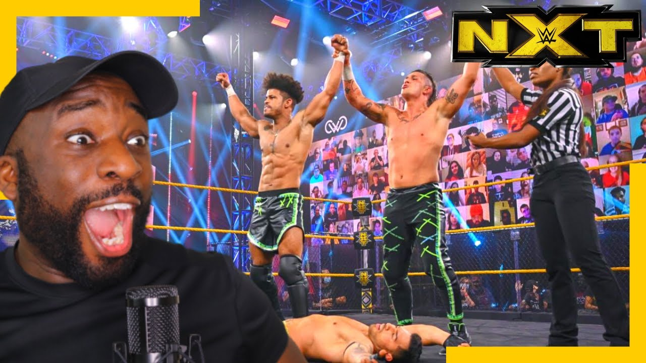 Download MSK vs Legado del Fantasma | Dusty Rhodes Tag Team Classic Semifinals | WWE NXT | REACTION