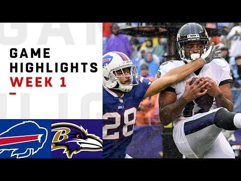Bills vs. Ravens Week 1 Highlights | NFL 2018