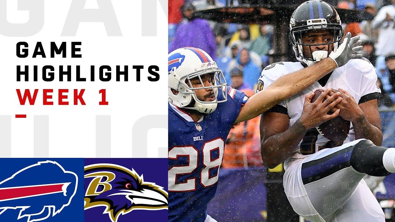 Bills Vs Ravens Week 1 Highlights Nfl 2018 Youtube