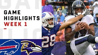 Bills vs. Ravens Week 1 Highlights | NFL 2018