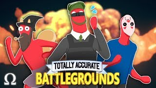 DERPY FORTNITE EDITION BATTLE ROYALE!   TOTALLY ACCURATE BATTLEGROUNDS W/Delirious, Toonz, Squirrel