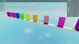 ROBLOX: Jump over the walls