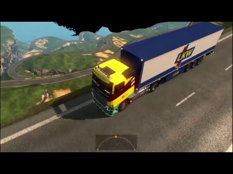 Euro Truck Simulator 2 MOD Mapa South Korea Adventure ( Coreia do Sul Aventura ) #3