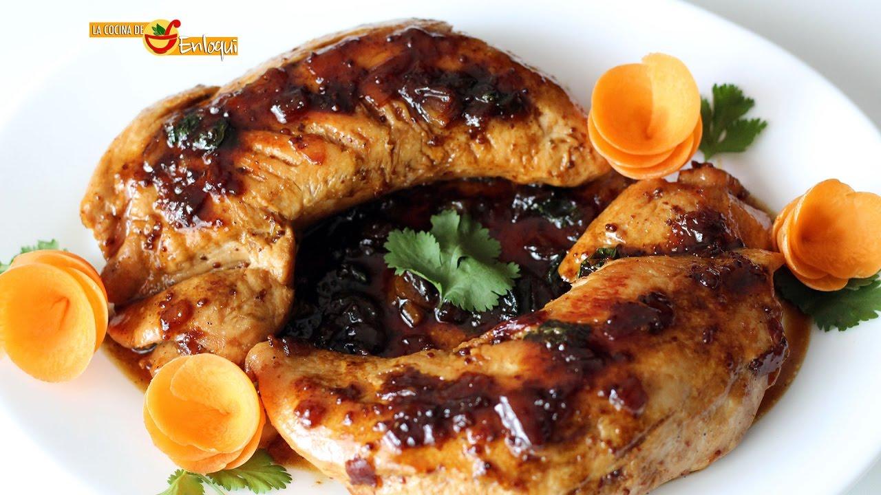 Solomillo de pavo con miel y mostaza la cocina de - Solomillo de ternera al horno con mostaza ...