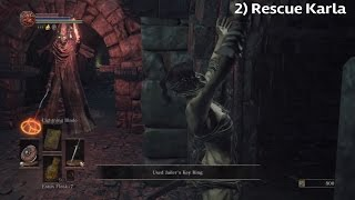 Dark Souls 3 » Complete Karla's and Orbeck's Questline