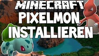Pixelmon installieren | PIXELMON MOD | Installation | Deutsch HD