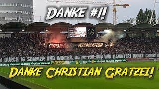 Danke #1! Danke Christian Gratzei! | SK Sturm Graz - Admira 2:0, 35. Runde - Bundesliga 2017/18
