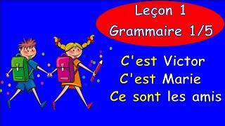 Уроки французского языка 1. Грамматика. Часть 1 #французскийязык