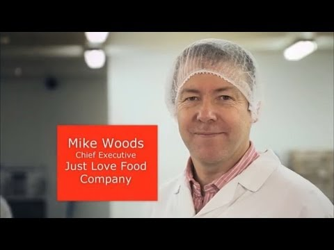 MIKE WOODS: JUST LOVE FOOD COMPANY
