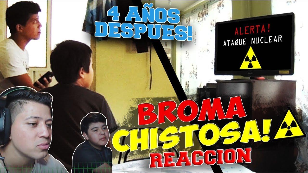 BROMA FIN DEL MUNDO, ATAQUE NUCLEAR !! *REACCION* / NENUKO Ft. CESAR VLOOX