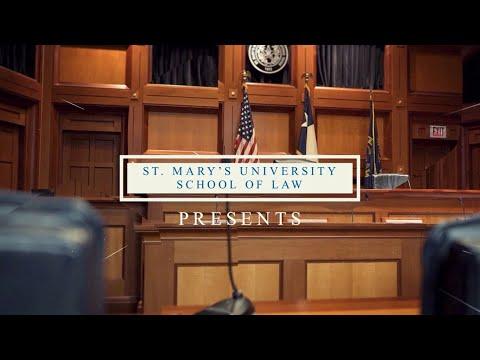 St. Mary's University School Of Law 2020 Graduation