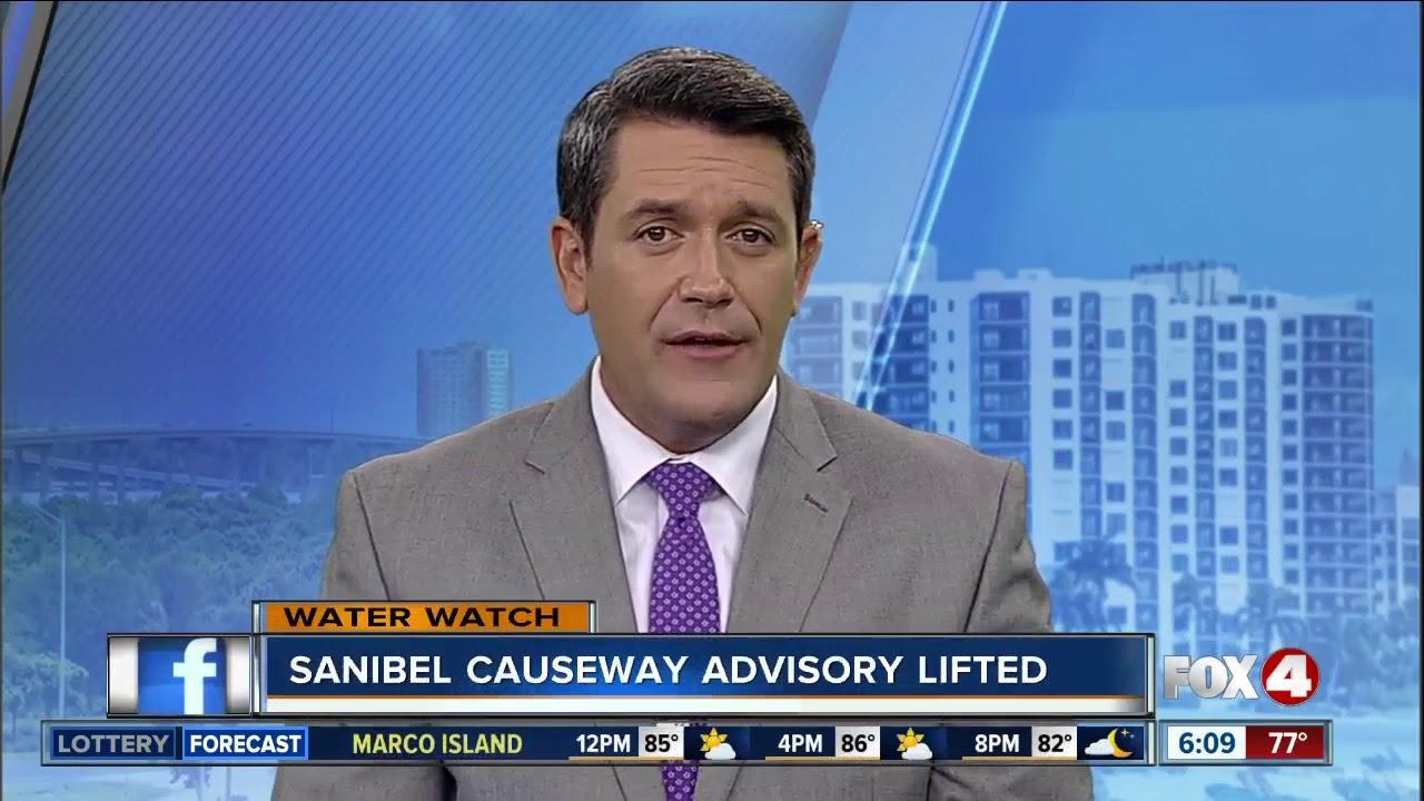 Sanibel Causeway swimming advisory lifted