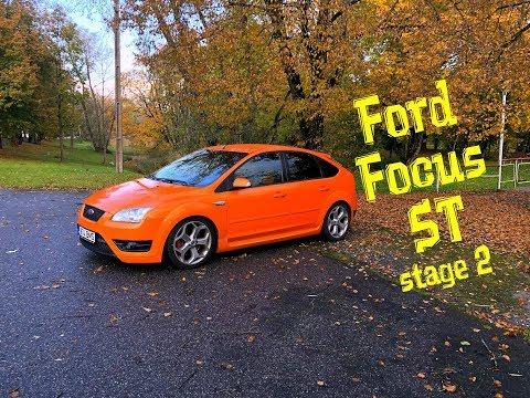 Ford Focus ST [stage 2] БЕШЕНЫЙ АПЕЛЬСИН!