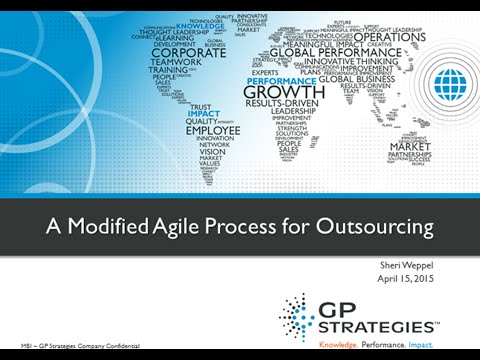 Webinar | A Modified Agile Process for Outsourcing