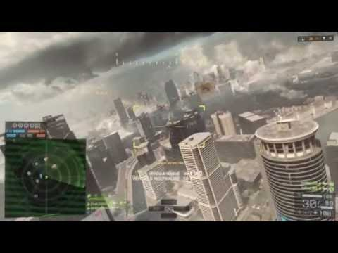 Battlefield 4 | 169-0 8.45kpm 52%accuarcy | Shanghai Helicopter Gameplay