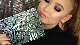 urban decay vice 4 palette tutorial   first look