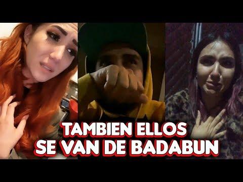 Carolina Diaz, Banaz y Cellegrini también dejan BADABUN así lo confirman