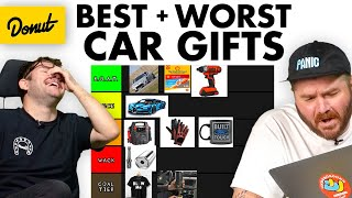 We Ranked the BEST and WORST Gifts for Car People