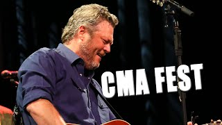 Blake Shelton's CMA Fest Performance of 'God's Country' Features Devin Dawson Video