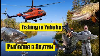 Рыбалка в Якутии за гранью реальности / Fishing in Yakutia beyond reality (Hucho taimen)