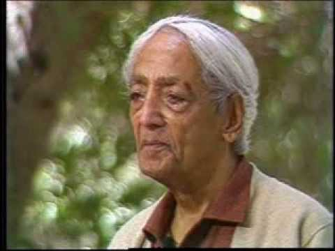 J. Krishnamurti - Beyond Myth & Tradition 11 - Love: the flame without smoke
