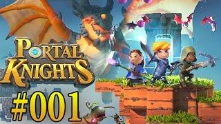 PORTAL KNIGHTS PS4 PART 1 - FINKEN FORT, Grunzer Grünschnabel | Let´s Play Portal Knights Deutsch
