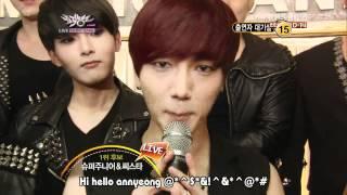 [Vietsub] 120713 Super Junior @ Music Bank waiting room