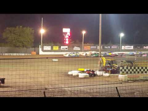 Mike Provenzano feature at Sycamore Speedway-8/25/18