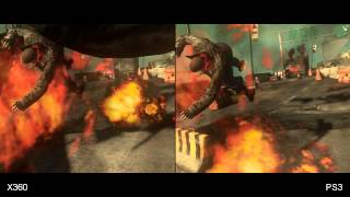 Prototype 2 Xbox 360/PlayStation 3 Comparison