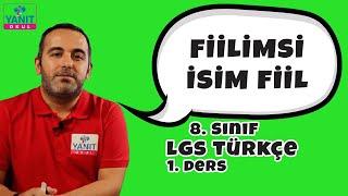 Fiilimsi | İsim Fiil | 2021 LGS Türkçe Konu Anlatımları #8trkc