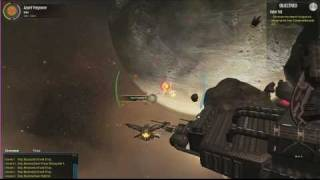 Jumpgate Evolution Video Game_ E3 2010- Azzurti Attack Gameplay Pt 1 HD.flv