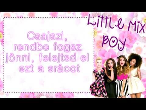 Little Mix - Boy (magyar felirattal)