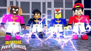THE POWER RANGERS TAKEOVER JAILBREAK - Roblox gaming adventures