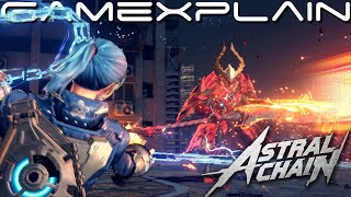 Astral Chain - Receiving Your First Legion + Combat Gameplay!