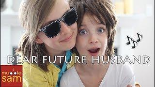 DEAR FUTURE HUSBAND - MEGHAN TRAINOR | Sophia & Bella Mugglesam Kids