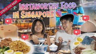 Insta-worthy Food In Singapore   Eatbook Food Guide   EP 35